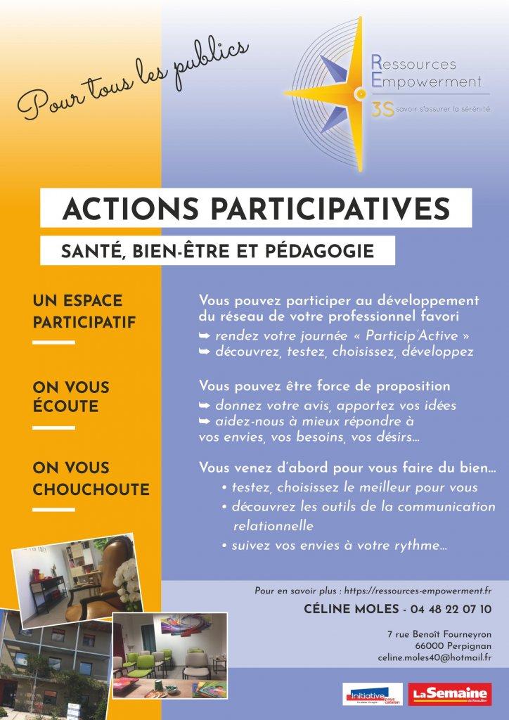 Flyer RE3S Actions participatives